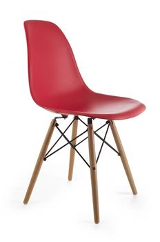 Design szék G21 Timber Red GA-TM02RD